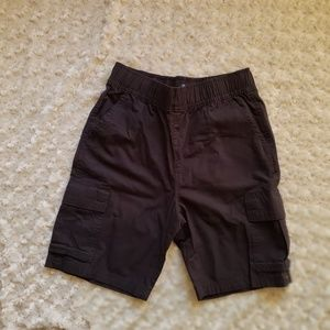 Childrens Place Boys Washed Blk Sz 8 Husky shorts